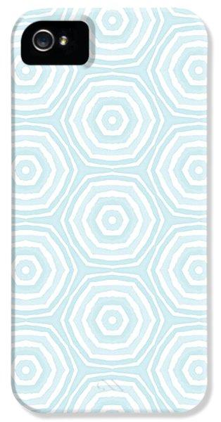 Beach iPhone 5 Case - Dip In The Pool -  Pattern Art By Linda Woods by Linda Woods