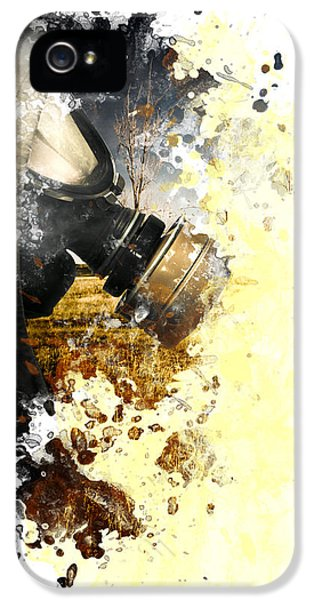 Disaster Of War And Gas IPhone 5 Case by Jorgo Photography - Wall Art Gallery