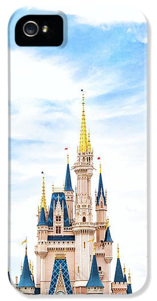 Castle iPhone 5 Case - Disneyland by Happy Home Artistry
