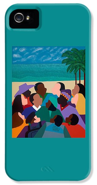 iPhone 5 Case - Diversity In Cannes by Synthia SAINT JAMES