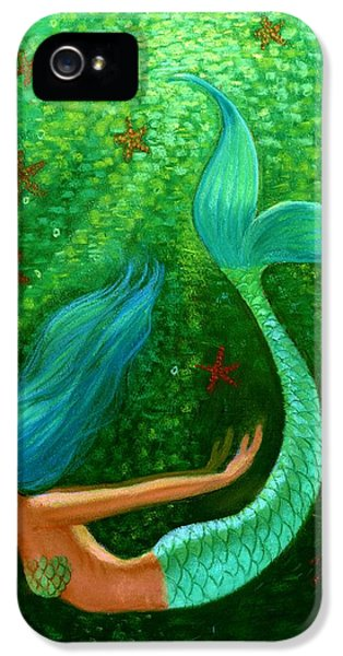 Diving Mermaid Fantasy Art IPhone 5 Case