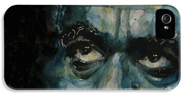 Dizzy Gillespie IPhone 5 Case by Paul Lovering