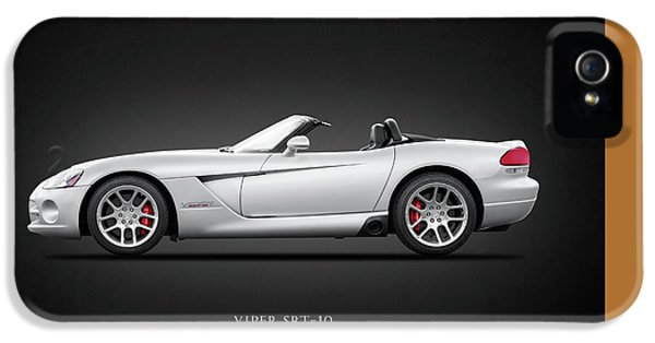 Dodge Viper Srt10 IPhone 5 Case by Mark Rogan