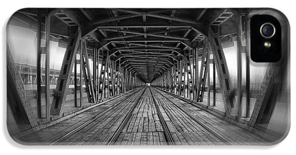 Dodging Trams In Warsaw Poland IPhone 5 Case