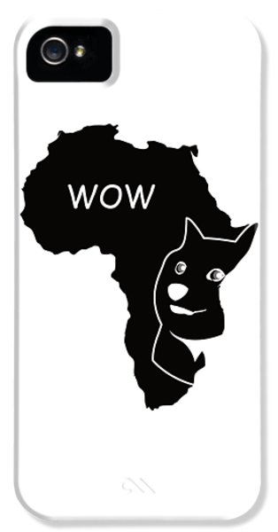 Dogecoin In Africa IPhone 5 / 5s Case by Michael Jordan