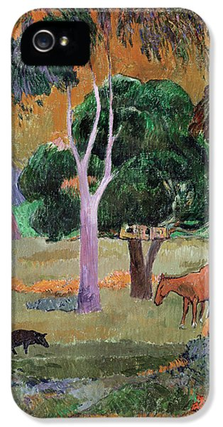 Dominican Landscape IPhone 5 / 5s Case by Paul Gauguin