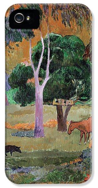 Dominican Landscape IPhone 5 / 5s Case by Paul Gauguin