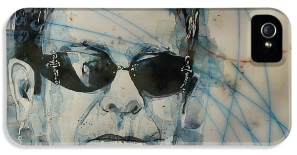 Elton John iPhone 5 Case - Don't Let The Sun Go Down On Me  by Paul Lovering