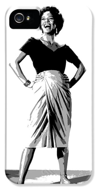 Dorothy Jean Dandridge IPhone 5 Case by Charles Shoup