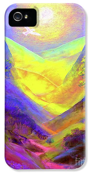 Dove iPhone 5 Case - Dove Valley by Jane Small