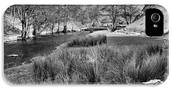 Dovedale, Peak District Uk IPhone 5 Case by John Edwards