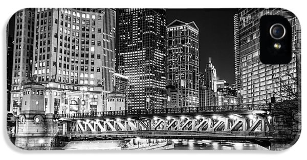 Downtown Chicago Michigan Avenue Bridge Picture IPhone 5 Case