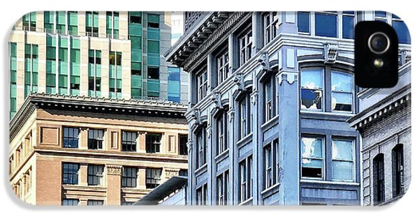 iPhone 5 Case - Downtown San Francisco by Julie Gebhardt