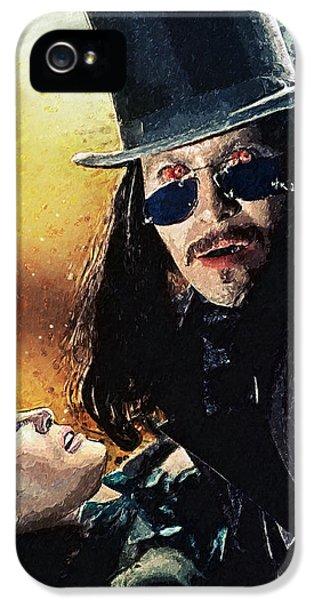 Dracula IPhone 5 / 5s Case by Taylan Apukovska