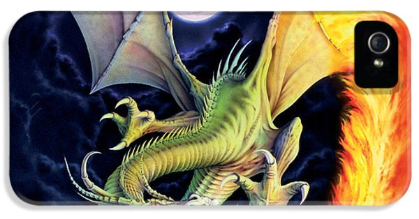Dragon Fire IPhone 5 Case by The Dragon Chronicles