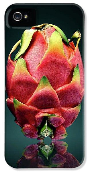 Dragon iPhone 5 Case - Dragon Fruit Or Pitaya  by Johan Swanepoel