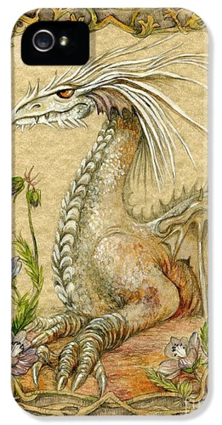Dragon IPhone 5 Case by Morgan Fitzsimons