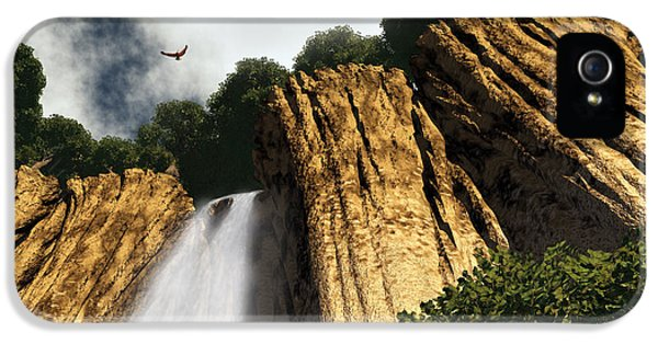 Dragons Den Canyon IPhone 5 / 5s Case by Richard Rizzo