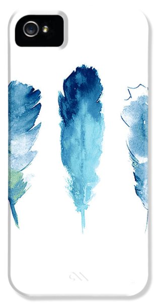 Dream Catcher Feathers Painting IPhone 5 / 5s Case by Joanna Szmerdt