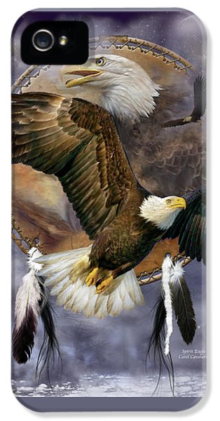 Dream Catcher - Spirit Eagle IPhone 5 Case