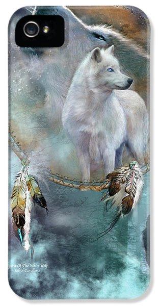 Dream Catcher - Spirit Of The White Wolf IPhone 5 Case