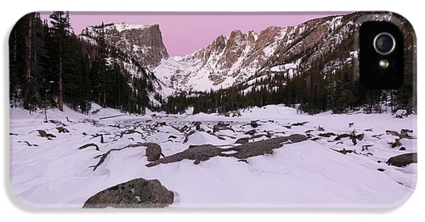 IPhone 5 Case featuring the photograph Dream Lake - Pre Dawn by Aaron Spong