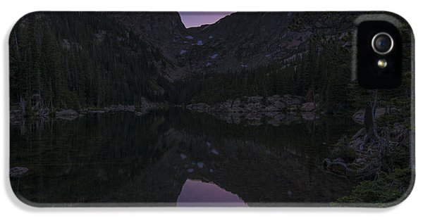 IPhone 5 Case featuring the photograph Dream Lake Reflections by Gary Lengyel