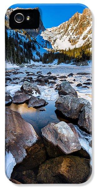 Dream Lake Sunrise IPhone 5 Case