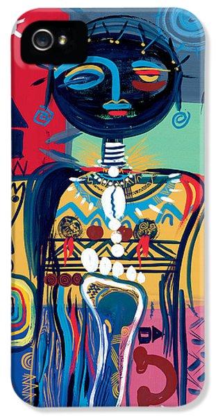 Dreaming Of Africa IPhone 5 Case by Oglafa Ebitari Perrin