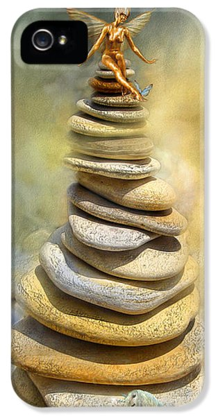 Dreaming Stones IPhone 5 Case by Carol Cavalaris