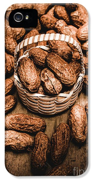 Dried Whole Peanuts In Their Seedpods IPhone 5 Case by Jorgo Photography - Wall Art Gallery