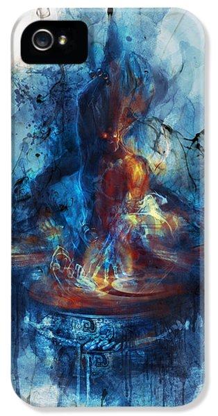 Drum iPhone 5 Case - Drum by Te Hu
