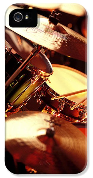 Drum iPhone 5 Case - Drums by Robert Ponzoni