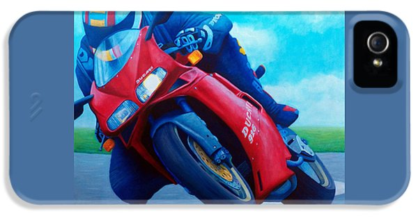 Ducati 916 IPhone 5 Case by Brian  Commerford