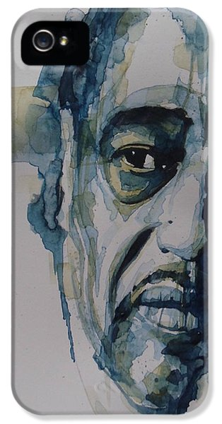 Legends iPhone 5 Case - Duke Ellington  by Paul Lovering