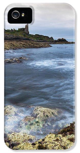 Castle iPhone 5 Case - Dunure Castle Scotland  by Mark Mc neill