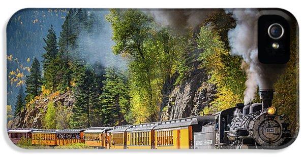 Train iPhone 5 Case - Durango-silverton Narrow Gauge Railroad by Inge Johnsson