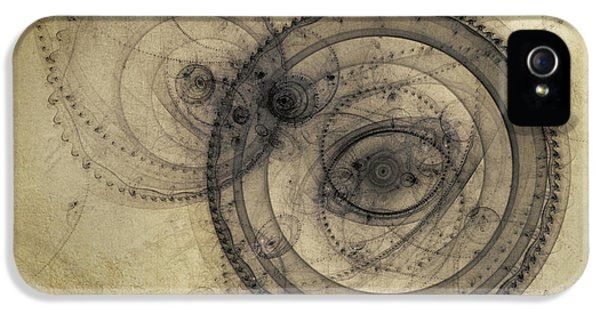 Dust Off The Clock IPhone 5 Case by Scott Norris