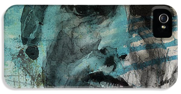 Dylan - Retro  Maggies Farm No More IPhone 5 Case by Paul Lovering