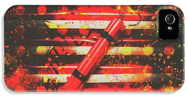 Dynamite Artwork IPhone 5 Case by Jorgo Photography - Wall Art Gallery