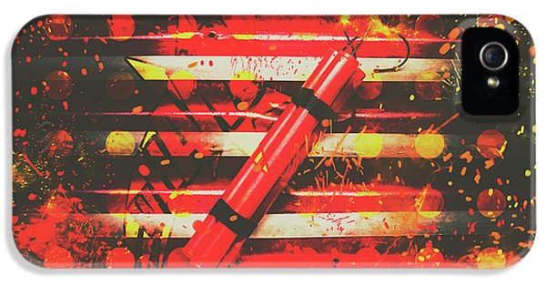Dynamite Artwork IPhone 5 / 5s Case by Jorgo Photography - Wall Art Gallery
