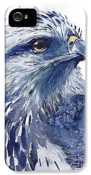 Falcon iPhone 5 Case - Eagle Watercolor by Suzann's Art
