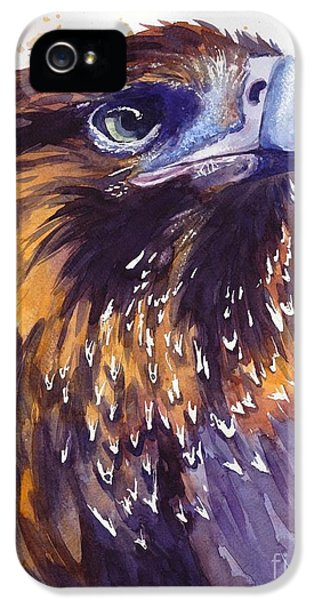 Hawk iPhone 5 Case - Eagle's Head by Suzann's Art