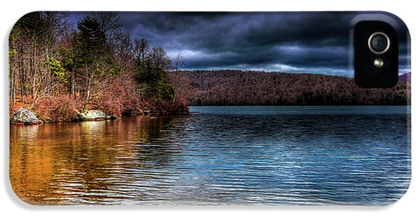 IPhone 5 Case featuring the photograph Early May On Limekiln Lake by David Patterson