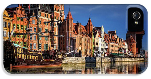 Early Morning On The Motlawa River In Gdansk Poland IPhone 5 Case