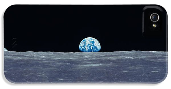 Earth Viewed From The Moon IPhone 5 Case