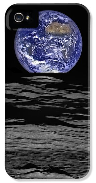 Earthrise IPhone 5 Case by Mark Kiver