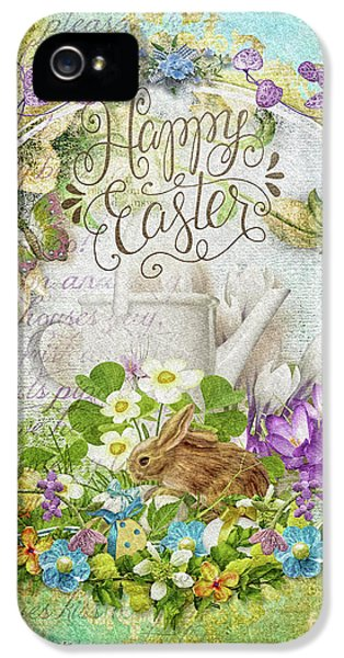 Easter Breakfast IPhone 5 Case by Mo T