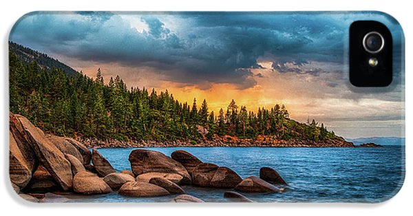 Eastern Glow At Sunset IPhone 5 Case by Anthony Bonafede