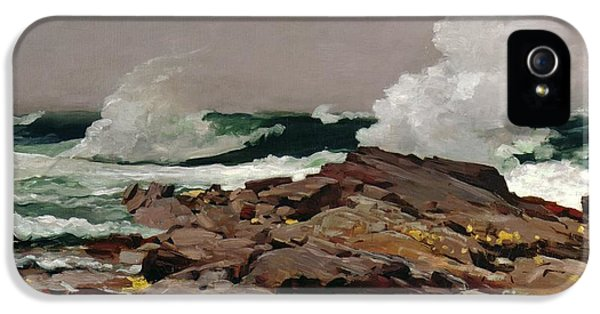 Sea iPhone 5 Cases - Eastern Point iPhone 5 Case by Winslow Homer